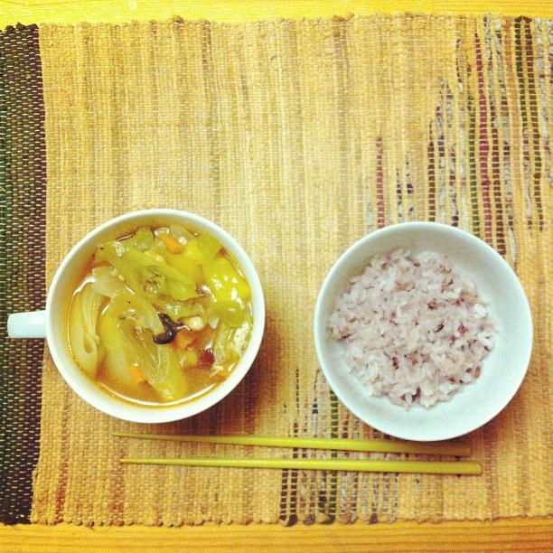 野菜スープ! #ごはん