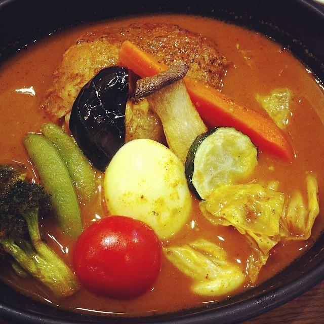 久しぶりにきた。スープにしたー。